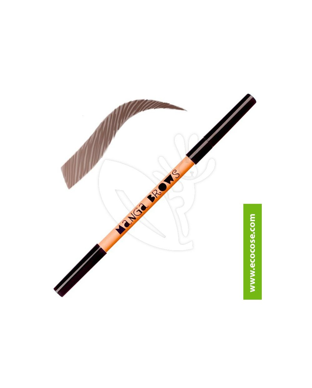 Neve Cosmetics - Manga Brows rich brown & black brown