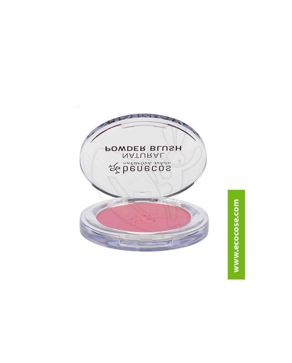 Benecos Fard Naturale Compatto - Mallow Rose