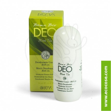 Bema Cosmetici - Bema Bio Deo roll on Uomo - Wood Tea