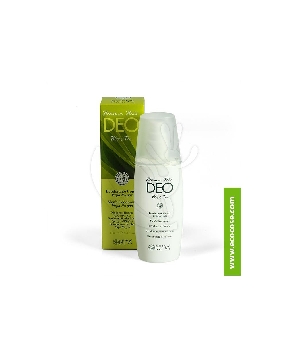 Bema Cosmetici - Bema Bio Deo Spray Uomo - Wood Tea