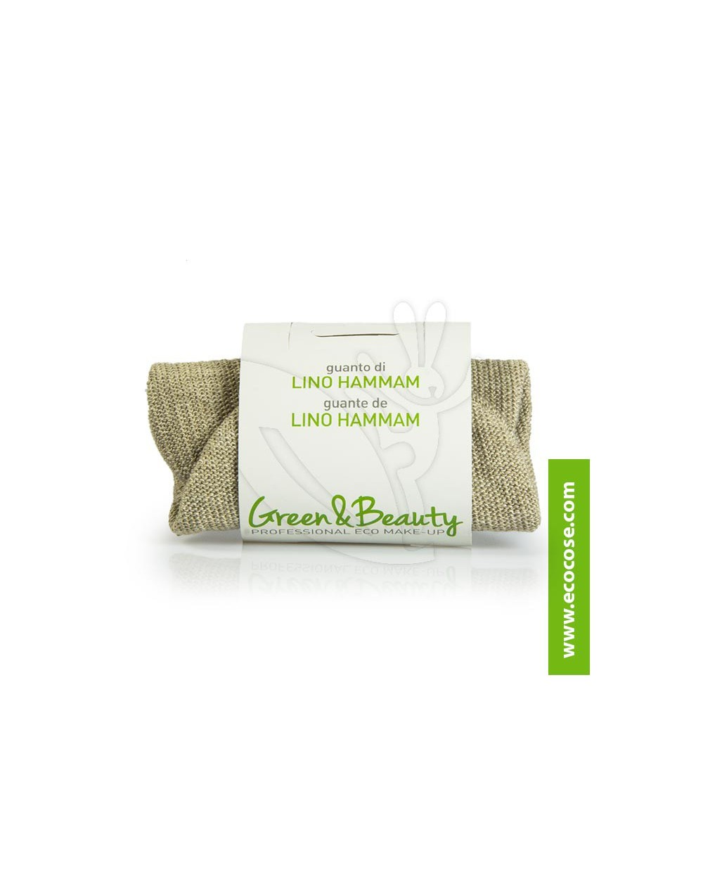 Green&Beauty - Guanto in lino Hammam