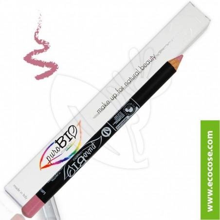 PuroBIO Cosmetics - Matita Biologica Occhi/Labbra 08 Rosa