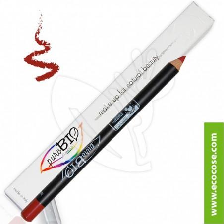 PuroBIO Cosmetics - Matita Biologica Labbra 09 Rosso