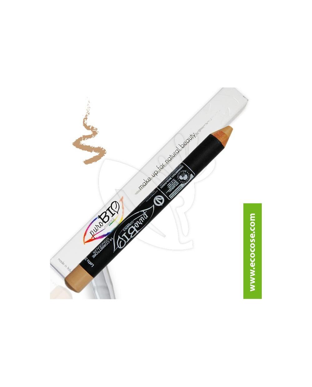 PuroBIO Cosmetics - Matitone Biologico Correttore 19 Verde Olivastro