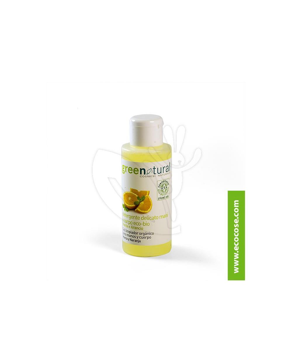 Greenatural - Detergente delicato Menta e Arancio 100 ml