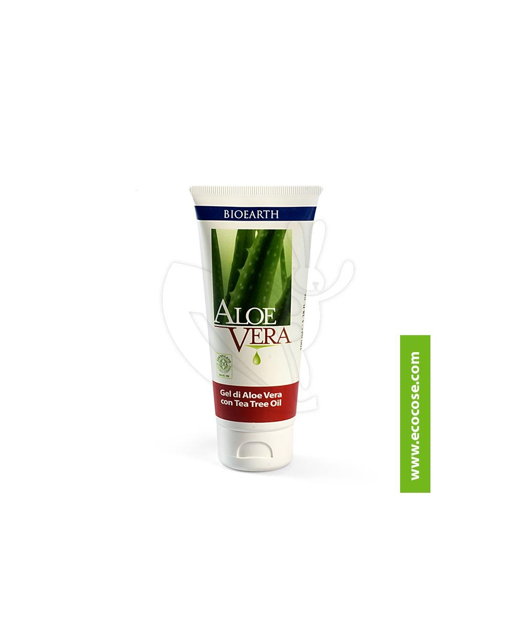 AloeVera Bioearth - Aloe Vera gel con Tea Tree biologico