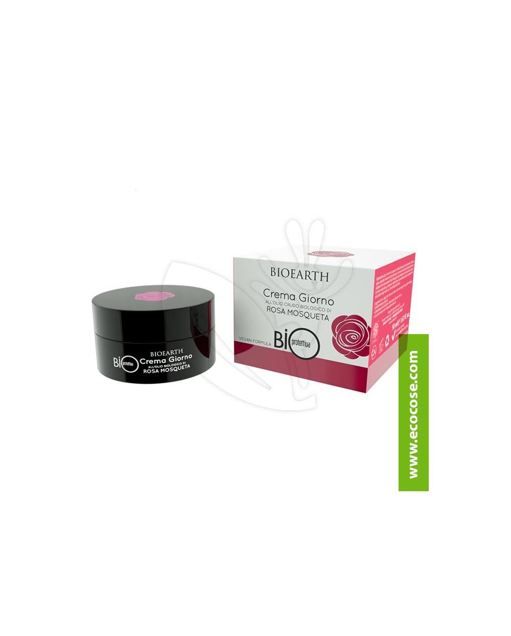 Bioearth - Bioprotettiva - Crema Giorno all'olio crudo di Rosa Mosqueta Bio