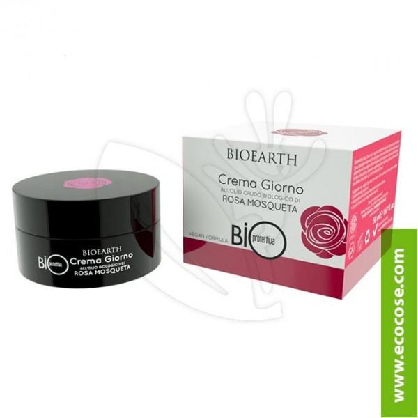 Bioearth - Bioprotettiva - Crema Giorno all'olio crudo di..