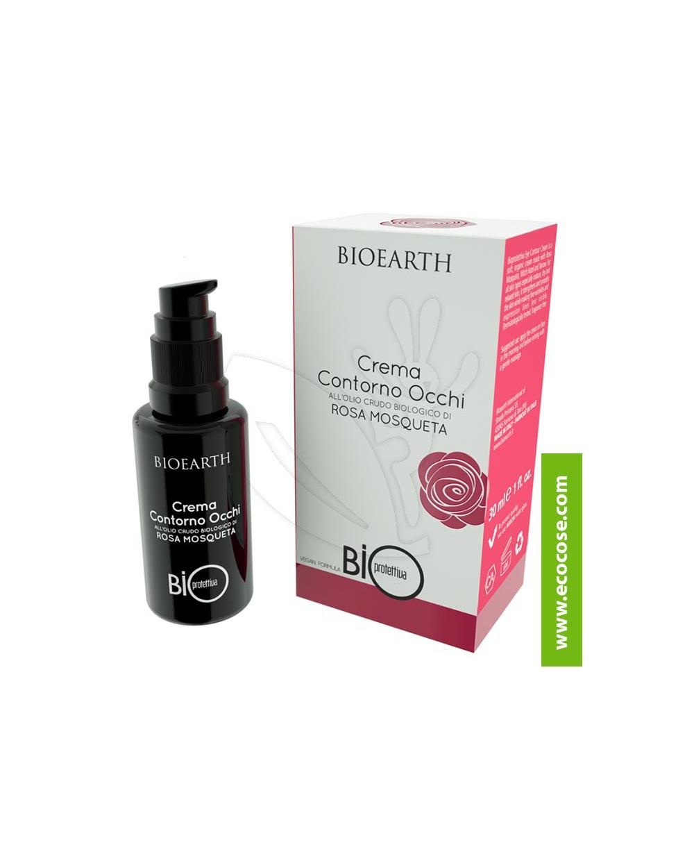 Bioearth - Bioprotettiva- Crema Contorno occhi all'olio crudo di Rosa Mosqueta Bio