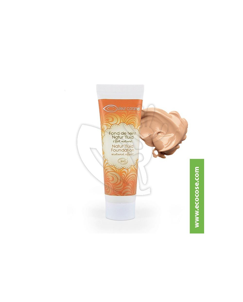 Couleur Caramel - Fondotinta Natur' Fluid - Beige Doré 14