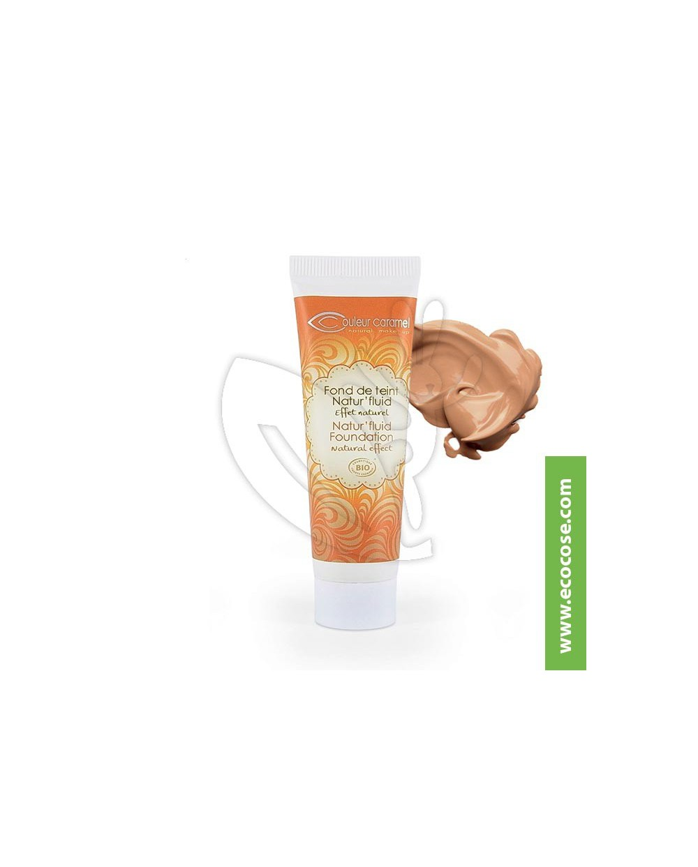 Couleur Caramel - Fondotinta Natur' Fluid - Beige Halé 15