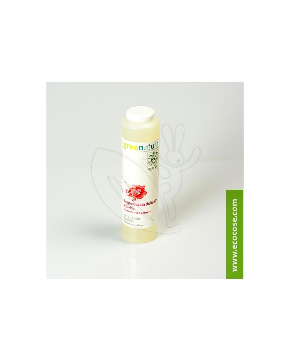 Greenatural - Bagnodoccia delicato Cardamomo e Zenzero