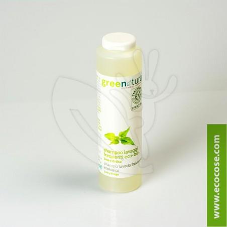 Greenatural - Shampoo lavaggi frequenti Lino e Ortica 250 ml