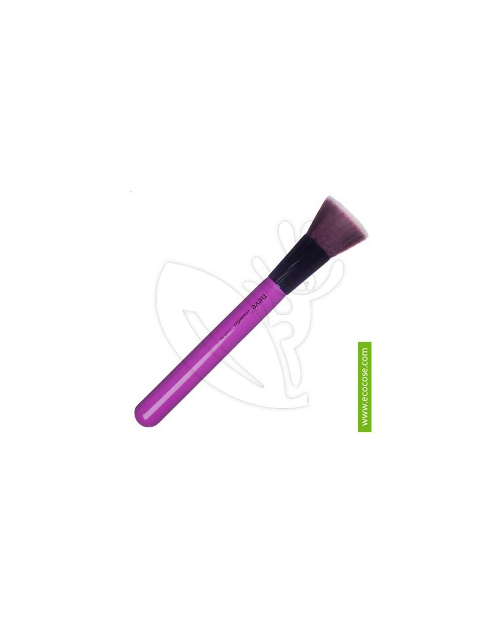 "Neve Cosmetics - Pennello ""Purple Flat"" Glossy Artist"