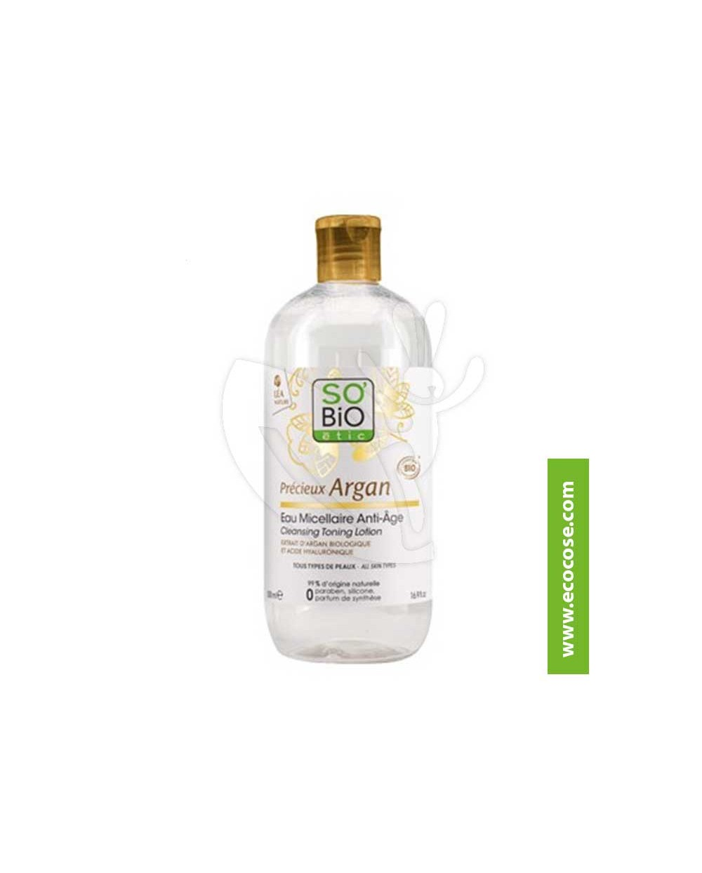 So' Bio Étic - Argan - Acqua Micellare ANTIAGE