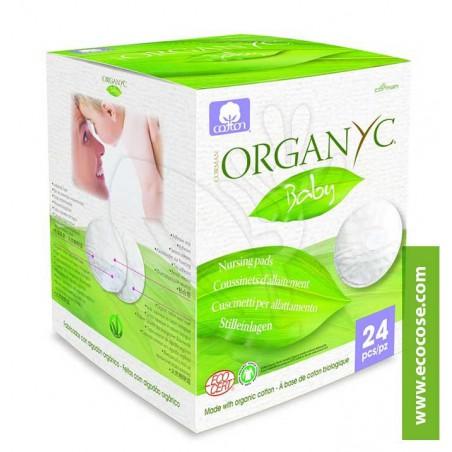 Organyc - Coppette per Allattamento in Cotone Bio