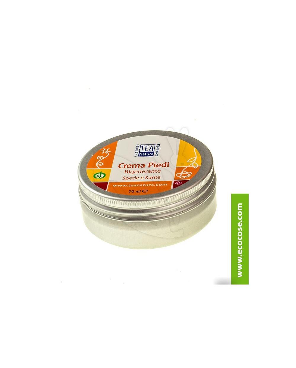 Tea Natura - Crema piedi rigenerante Spezie e Karité