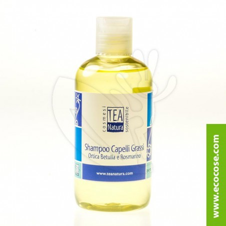 Tea Natura - Shampoo capelli grassi Ortica, Betulla e Rosmarino