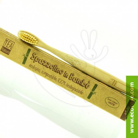 Tea Natura - Spazzolino in bambù - ADULTI