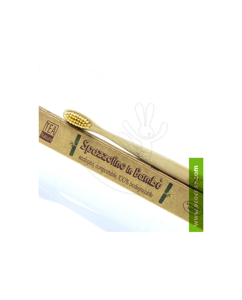 Tea Natura - Spazzolino in bambù - BIMBI