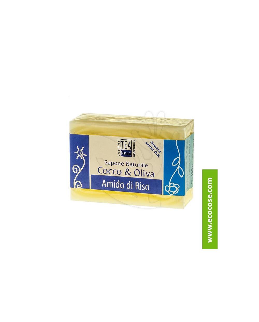 Tea Natura - Sapone naturale Cocco e Oliva con Amido di Riso