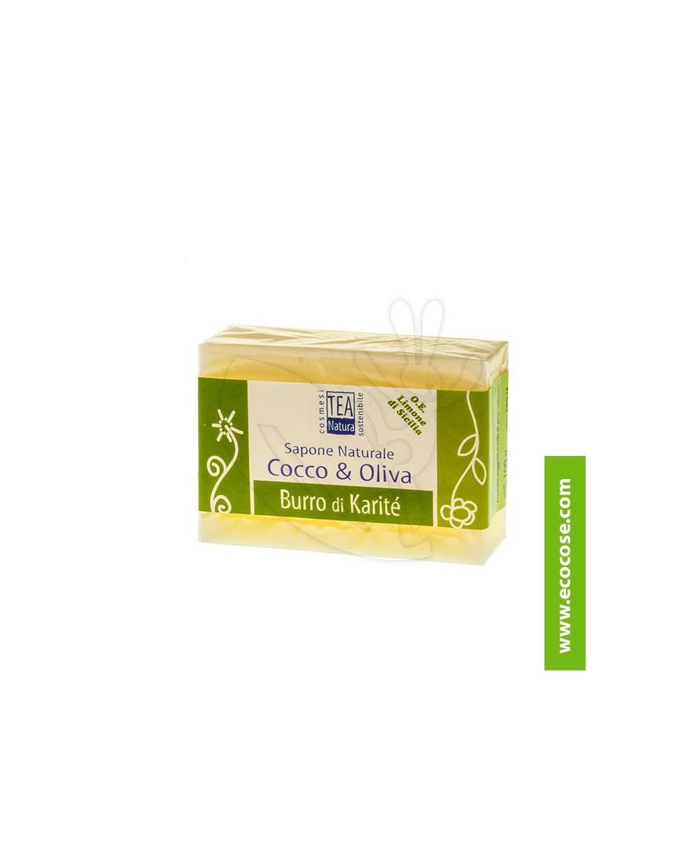 Tea Natura - Sapone naturale Cocco e Oliva con Burro di Karité
