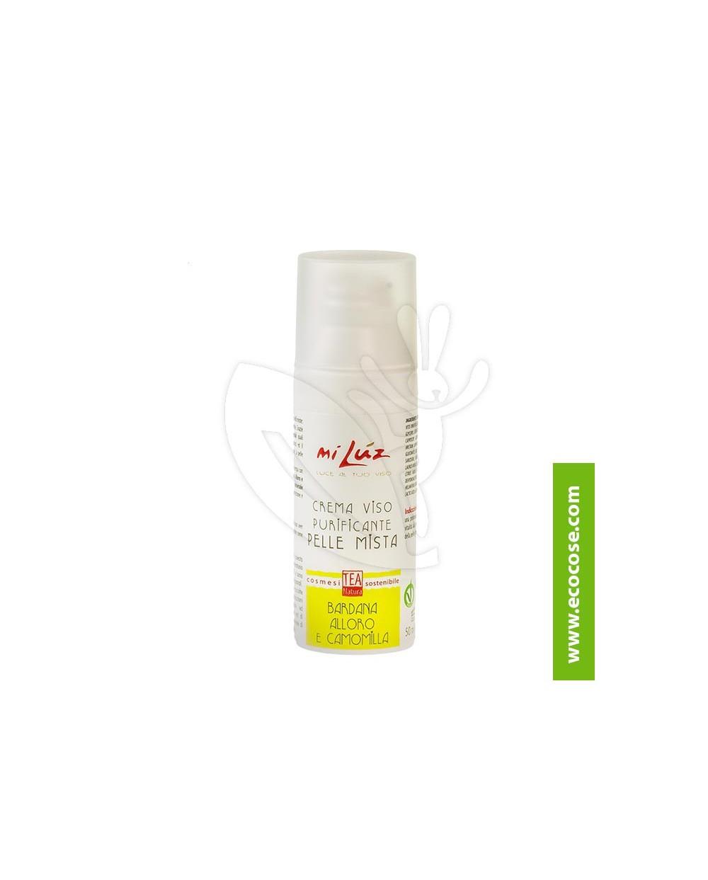Tea Natura - Mi Lùz Crema viso purificante pelle mista