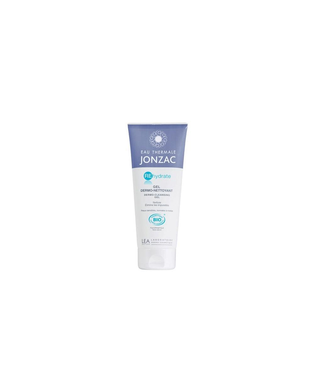 Eau Thermale Jonzac - REHIDRATE - Gel dermo-detergente reidratante