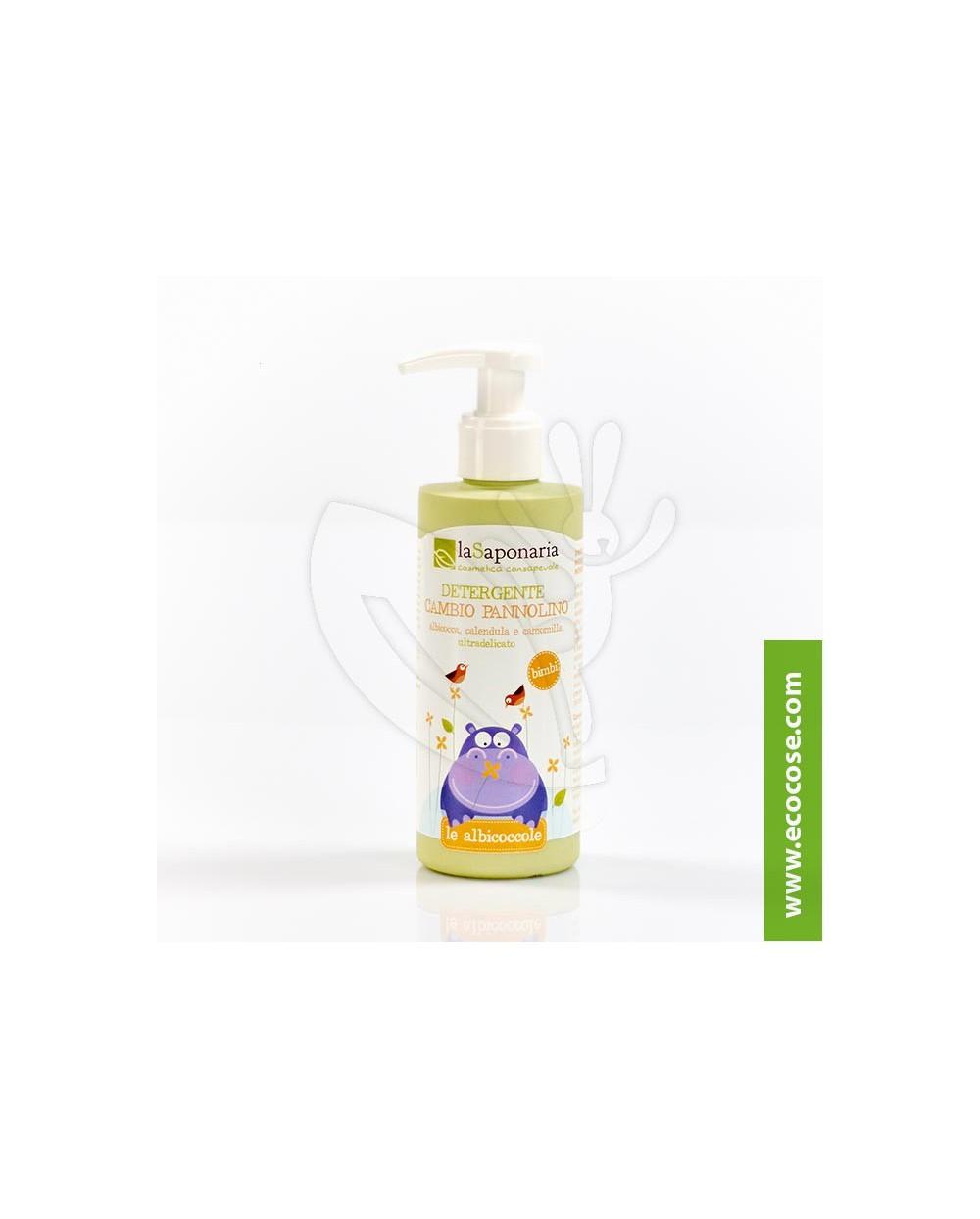 La Saponaria - Le Albicoccole - Bio Detergente  cambio pannolino