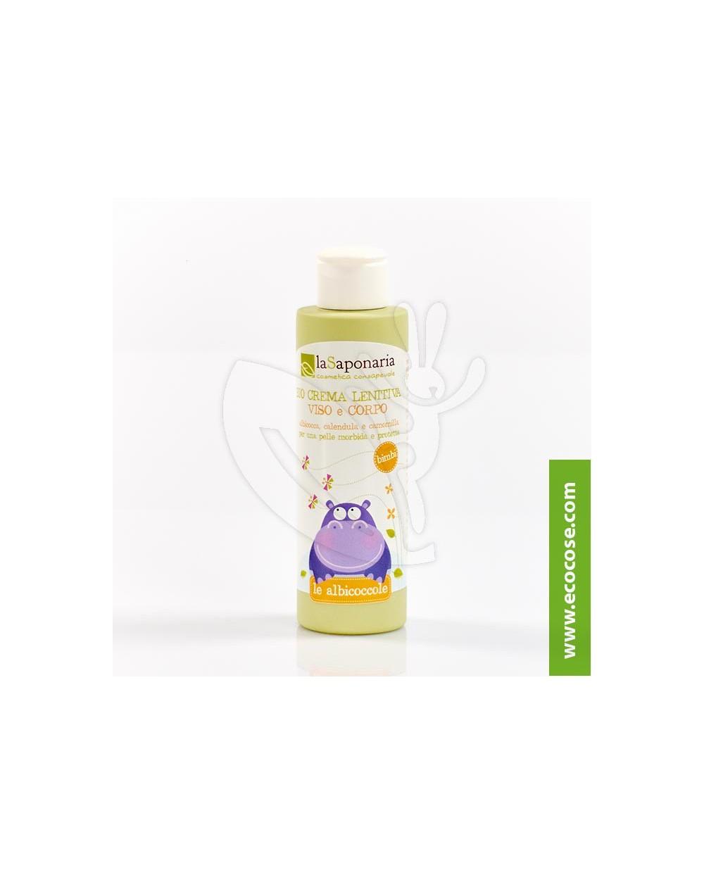 La Saponaria - Le Albicoccole - Bio Crema lenitiva viso e corpo