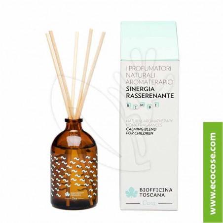 Biofficina Toscana - Profumatore naturale aromaterapico – Sinergia rasserenante Bimbi