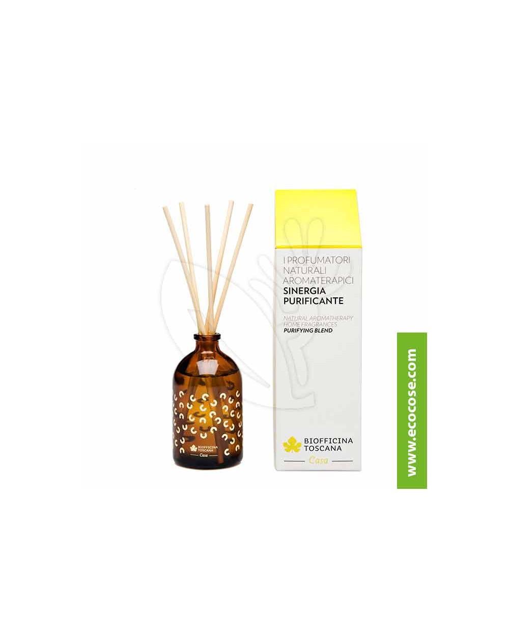 Biofficina Toscana - Profumatore naturale aromaterapico – Sinergia purificante
