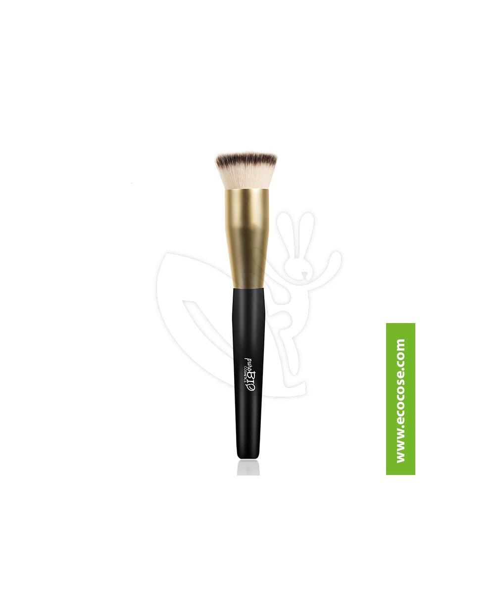 PuroBIO Cosmetics - Pennello 03 Fondotinta, Cipria