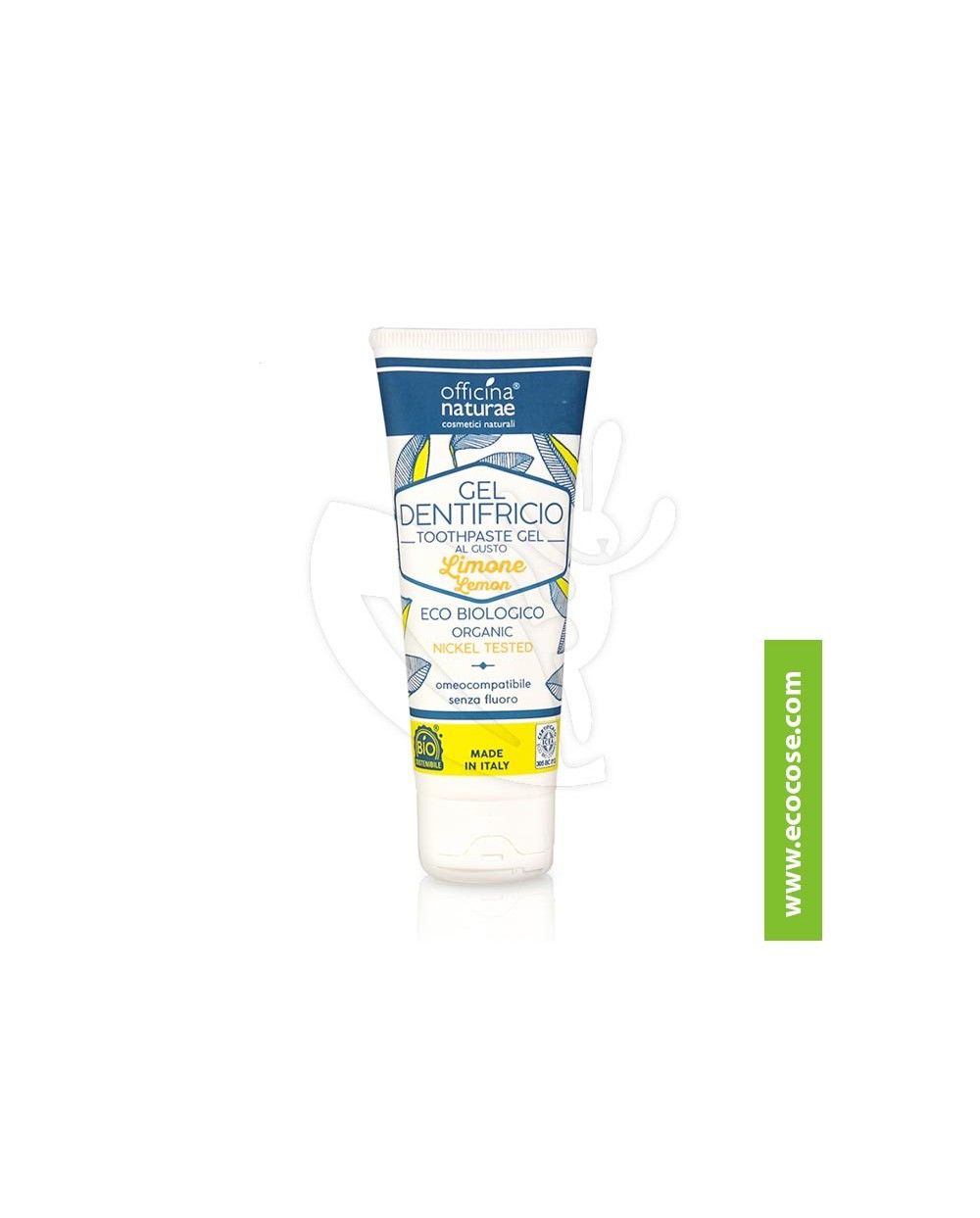 Officina Naturae - Gel dentifricio naturale LIMONE