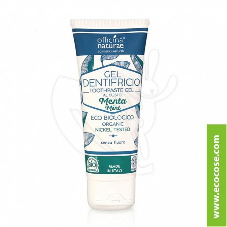 Officina Naturae - Gel dentifricio naturale MENTA