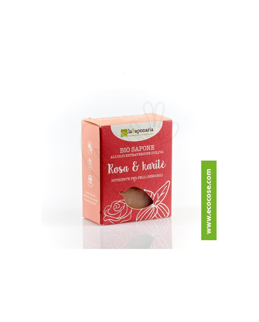 La Saponaria - Sapone rosa e karité