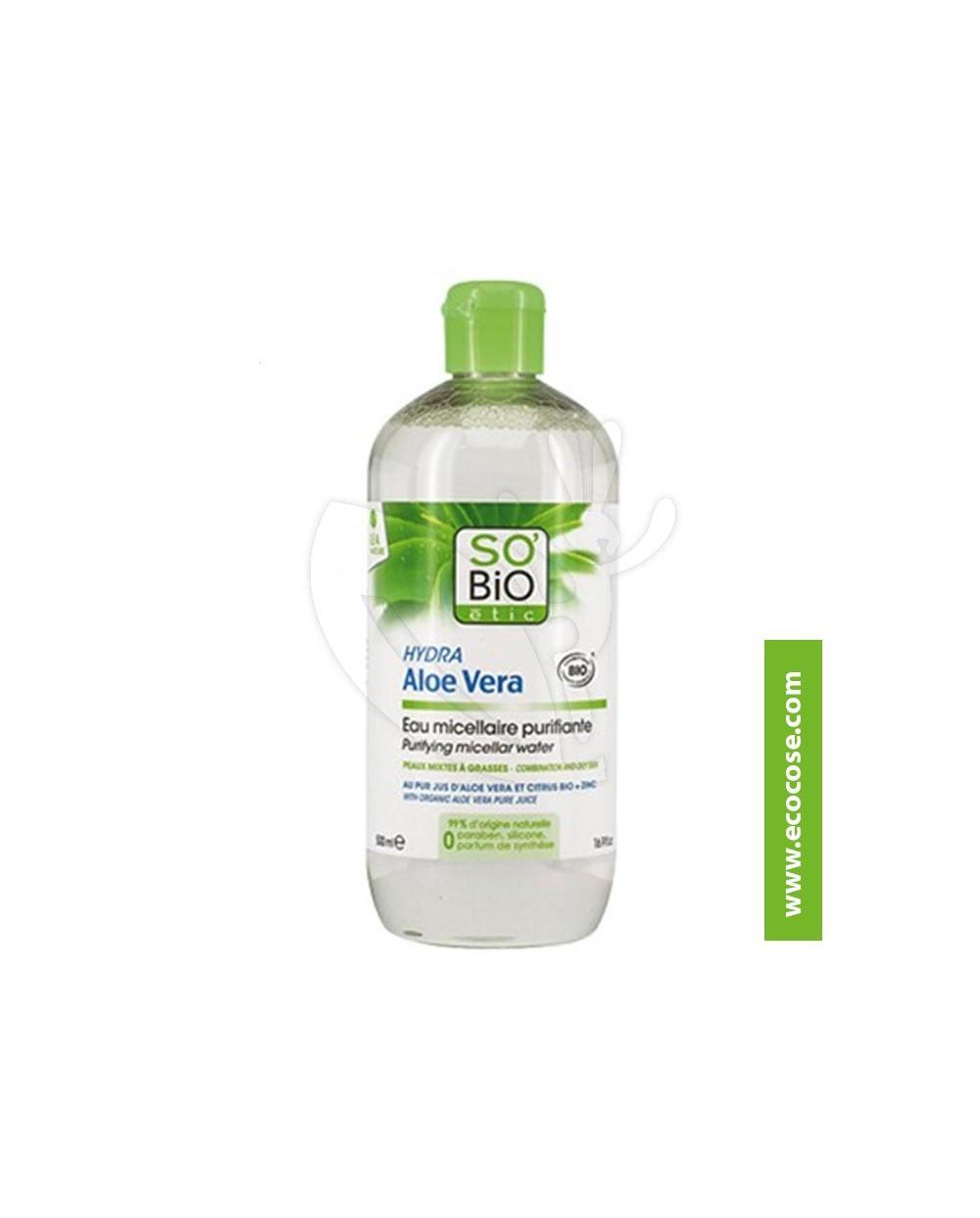 So' Bio Étic - Aloe Vera - Acqua Micellare PURIFICANTE