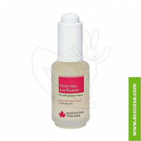 Biofficina Toscana - siero viso purificante
