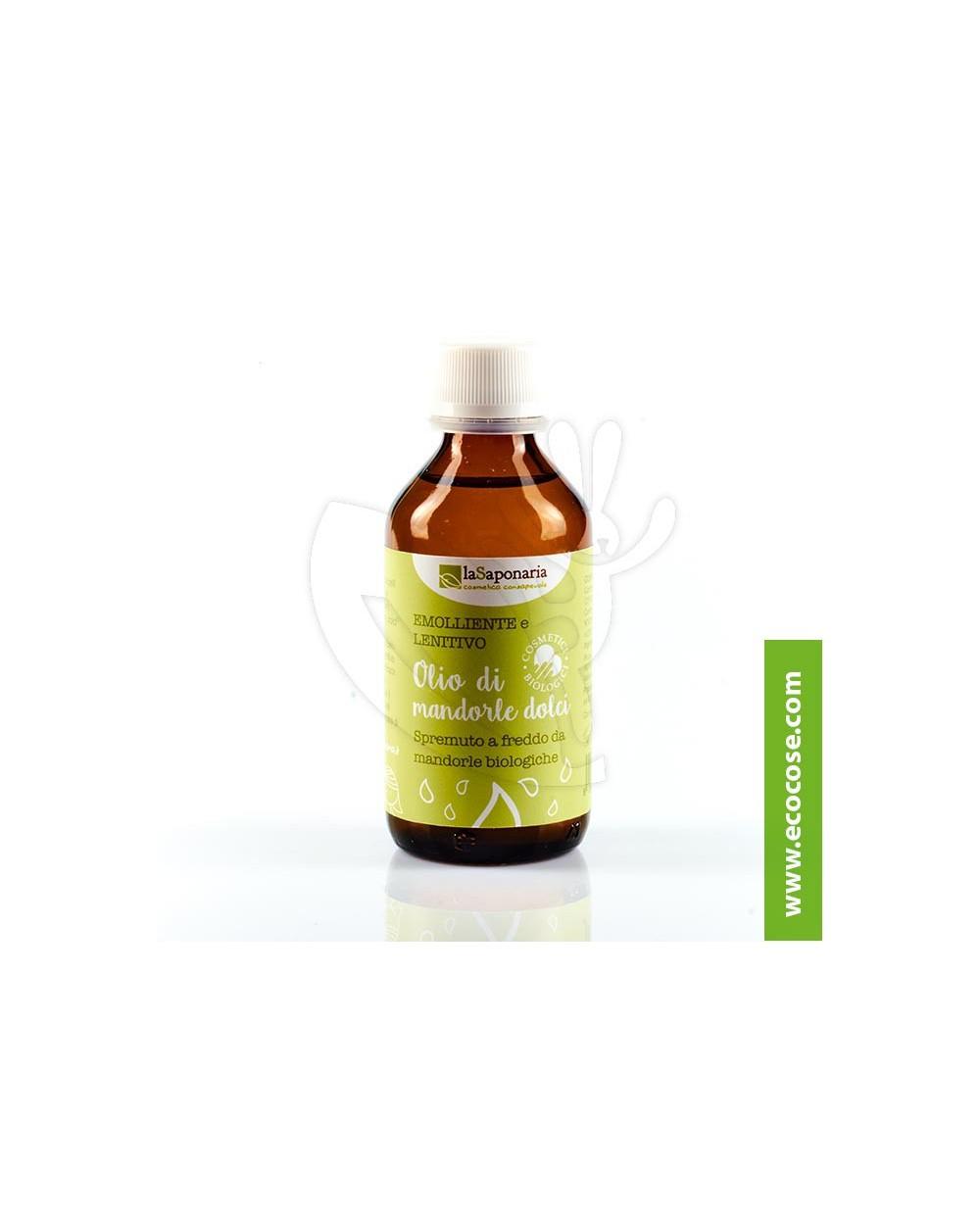 La Saponaria - Olio di Mandorle dolci biologico