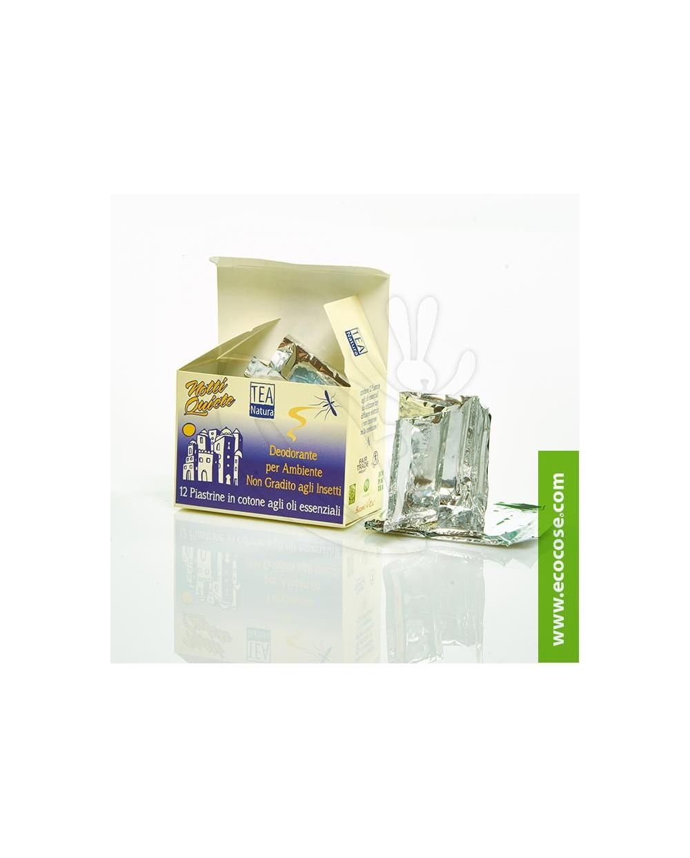 """Tea Natura - Piastrine deodoranti ambiente antizanzare e insetti """"Notti quiete"""""""