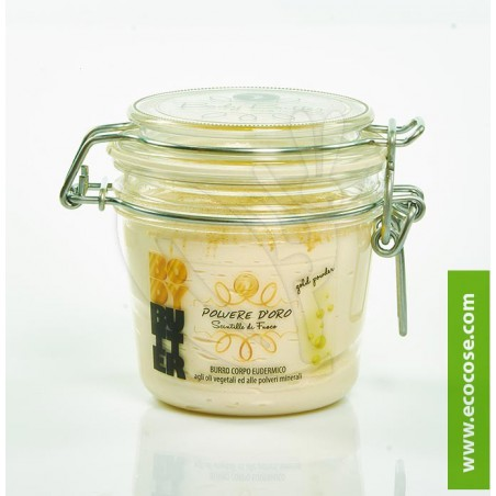 Volga Cosmetici - Burro Eudermico - Polvere d'Oro