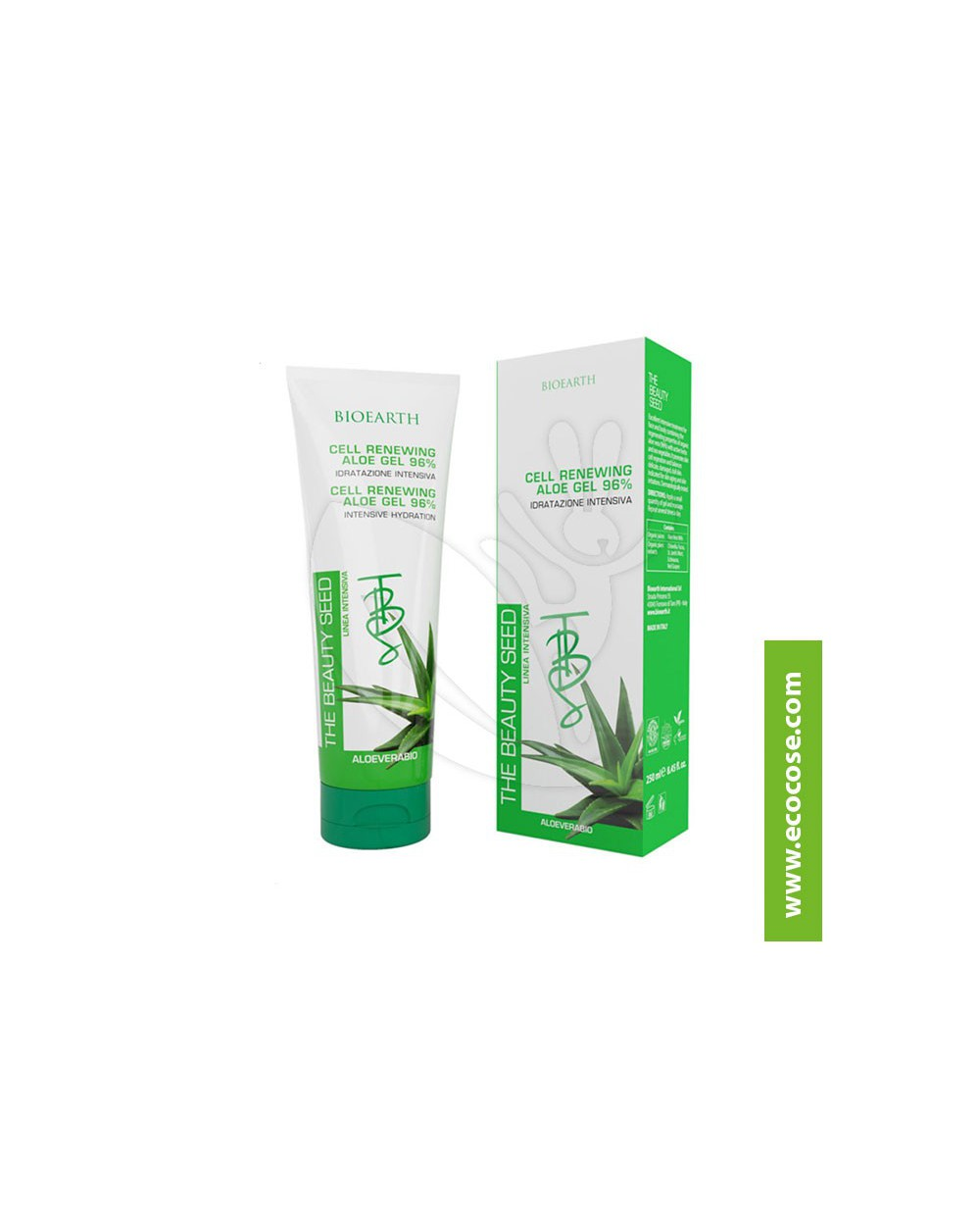 Bioearth - The Beauty Seed - Cell Renewing ALOE GEL 96%