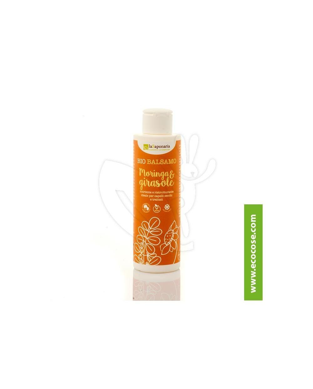 La Saponaria - Bio Balsamo capelli Moringa e Girasole - NUTRIENTE