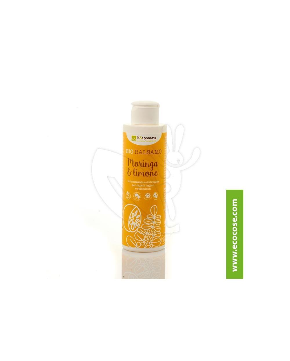 La Saponaria - Bio Balsamo capelli Moringa e Limone - VOLUMIZZANTE