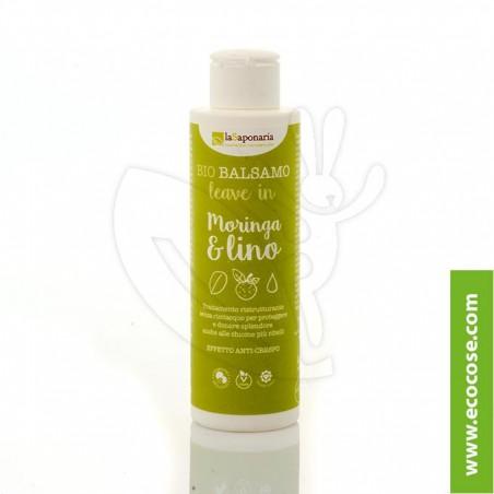 La Saponaria - Bio Balsamo Leave in Moringa e Lino - RISTRUTTURANTE
