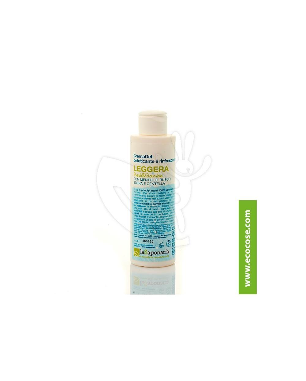 La Saponaria - CremaGel defaticante e rinfrescante Piedi e Gambe