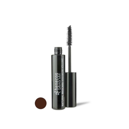 benecos Natural Mascara Maximum Volume smooth brown
