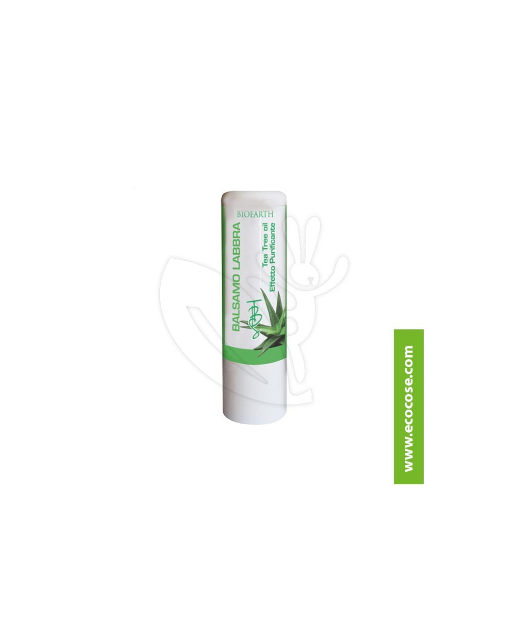 Bioearth - The Beauty Seed Lips - Balsamo Labbra Tea Tree Oil e Aloe