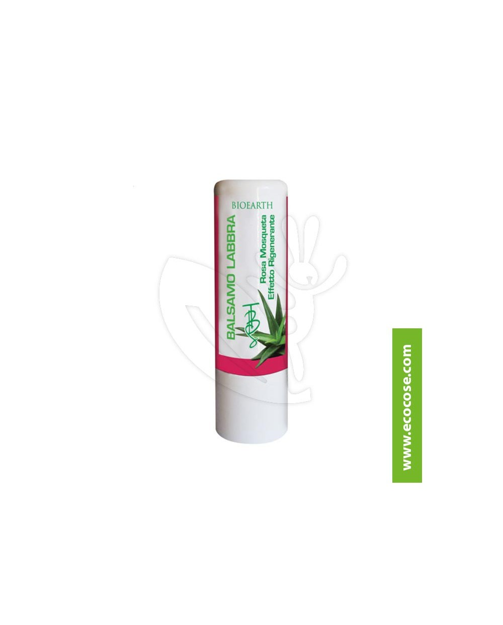 Bioearth - The Beauty Seed Lips - Balsamo Labbra Rosa Mosqueta e Aloe