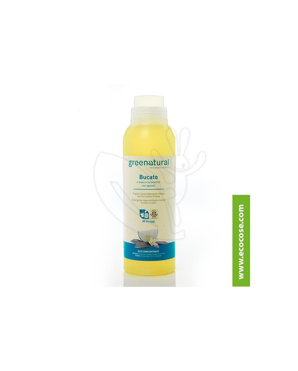 Greenatural - Bucato a mano e lavatrice AGRUMI